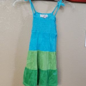 Girls Terry Cloth Cover Up